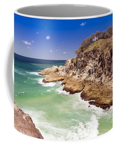 North Gorge Coffee Mug featuring the photograph North Gorge Stradbroke Island by Tim Hester
