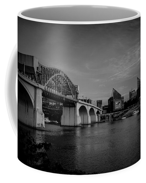 Chattanooga Coffee Mug featuring the photograph North Shore Bridge by Tim Childers