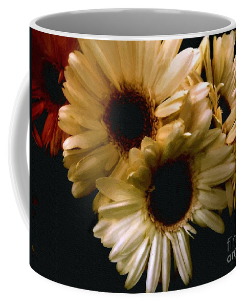 Flowers Coffee Mug featuring the painting Northern Renaissance Rustic by RC DeWinter