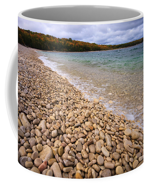 3scape Coffee Mug featuring the photograph Northern Shores by Adam Romanowicz