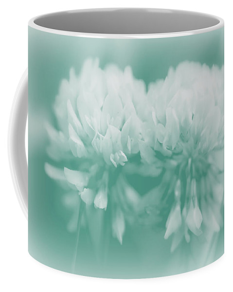 Clover Coffee Mug featuring the photograph Not-so-white White Clover by Mother Nature
