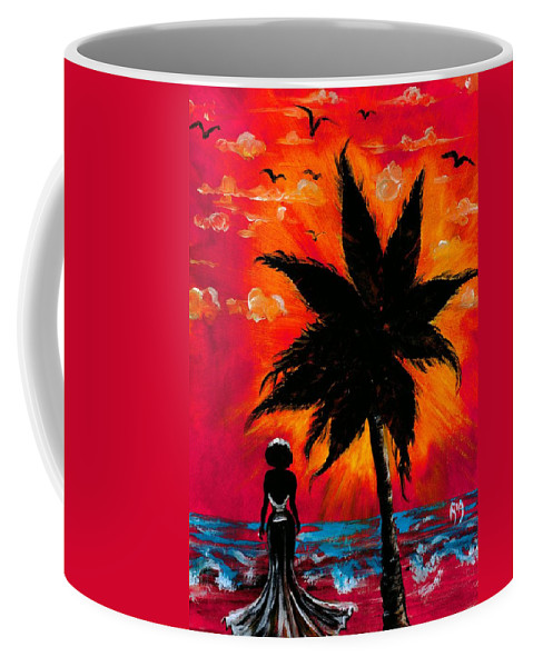 Water Coffee Mug featuring the photograph Nothing and Everthing by Artist RiA
