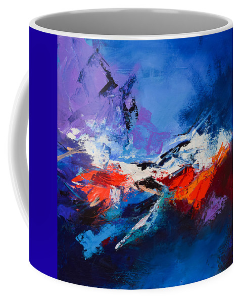 Acrylic Coffee Mug featuring the painting Nothing Else Matters by Elise Palmigiani