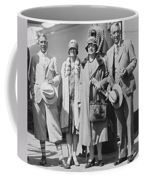 1927 Coffee Mug featuring the photograph Novelist Zane Grey by Underwood Archives