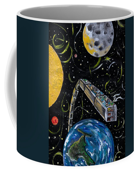 Beautiful Coffee Mug featuring the photograph Ny State Of Mind by Artist RiA