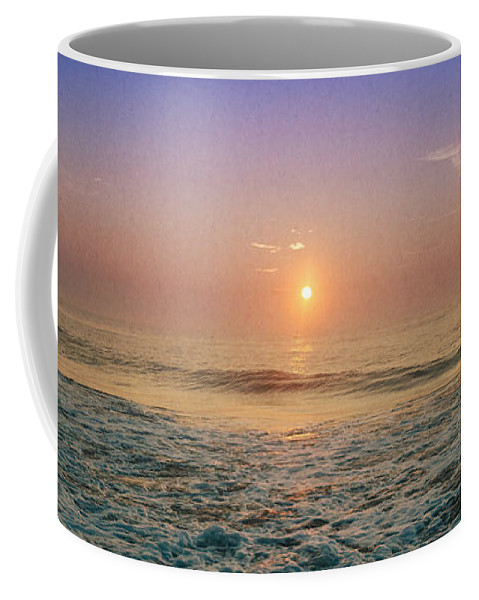 Ocean City Coffee Mug featuring the photograph Ocean City Sunrise by Crystal Wightman
