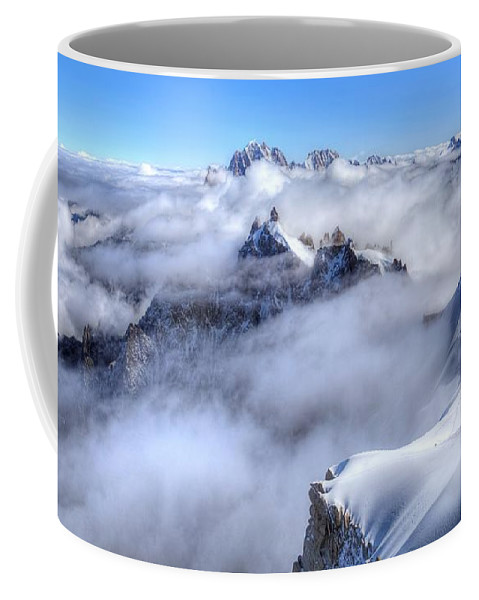 Mont Blanc Coffee Mug featuring the photograph Ocean Of Clouds by James Anderson