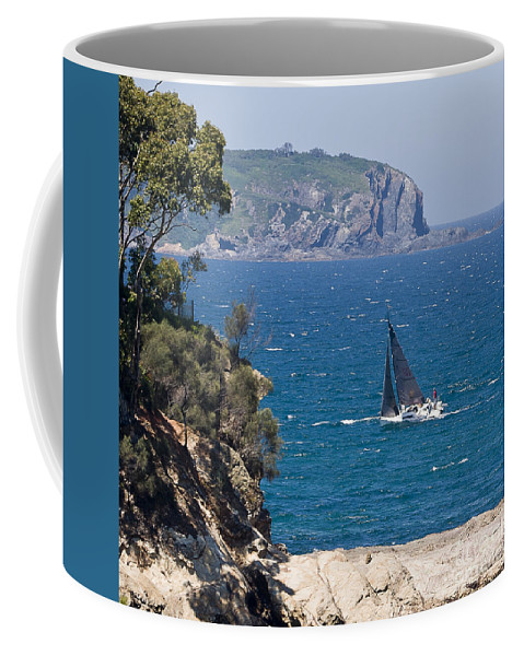 Australia Coffee Mug featuring the photograph Ocean Racing I by Steven Ralser