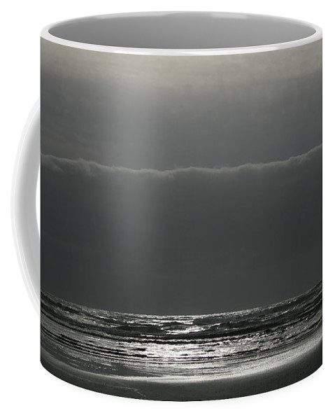 Coast Coffee Mug featuring the photograph Ocean Solitude by Marv Russell