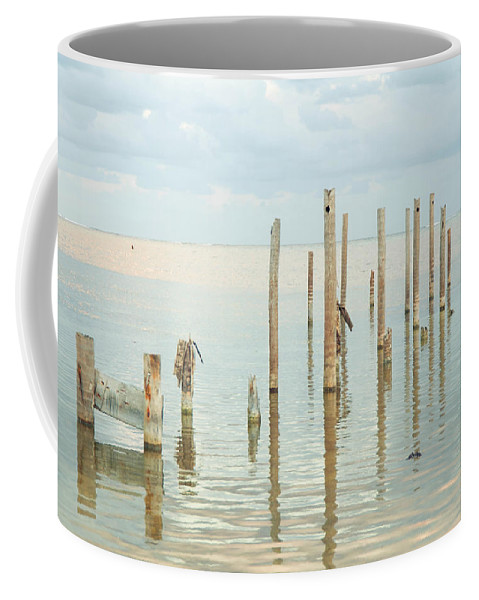 Belize Coffee Mug featuring the photograph Oceanic Tranquility 2 by Zina Zinchik