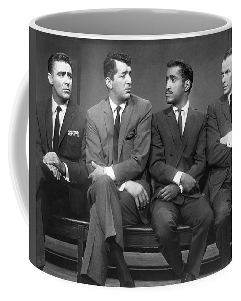 1960 Coffee Mug featuring the photograph Ocean's Eleven Rat Pack by Underwood Archives