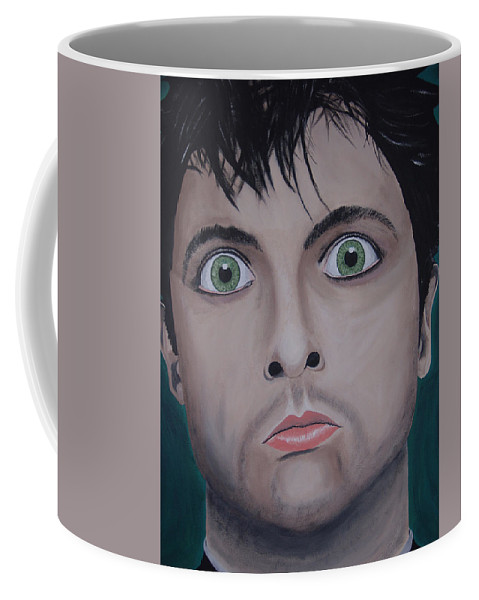 Rockumentory Coffee Mug featuring the painting Ode To Billie Joe by Dean Stephens