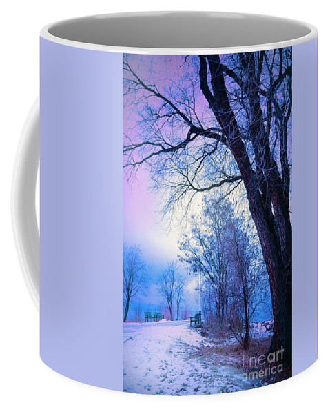 Tree Coffee Mug featuring the photograph Of Dreams And Winter by Tara Turner