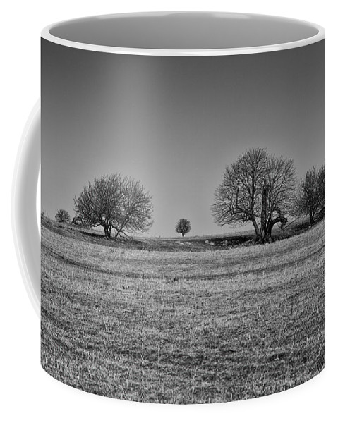 Landscape Coffee Mug featuring the photograph Off In The Distance by Eunice Gibb