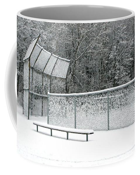 Winter Coffee Mug featuring the photograph Off Season by Ann Horn