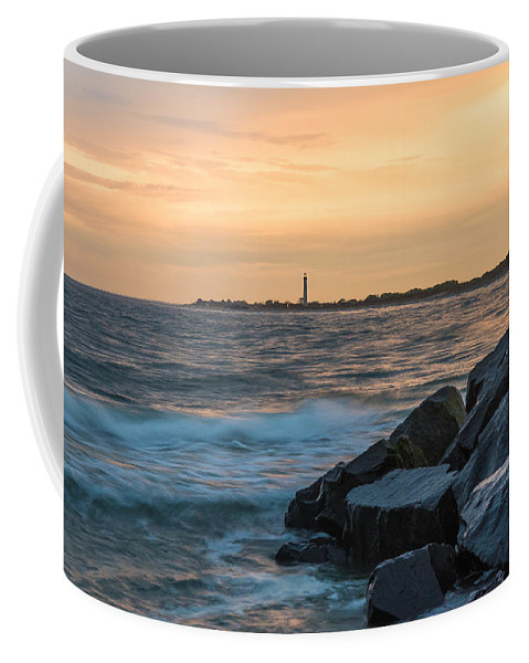 New Jersey Coffee Mug featuring the photograph Off the Cape by Kristopher Schoenleber