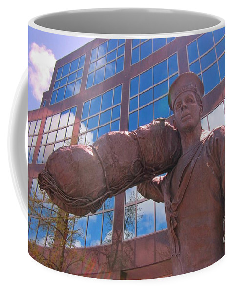 Military Service Art Coffee Mug featuring the photograph Off To Serve On The High Seas by John Malone