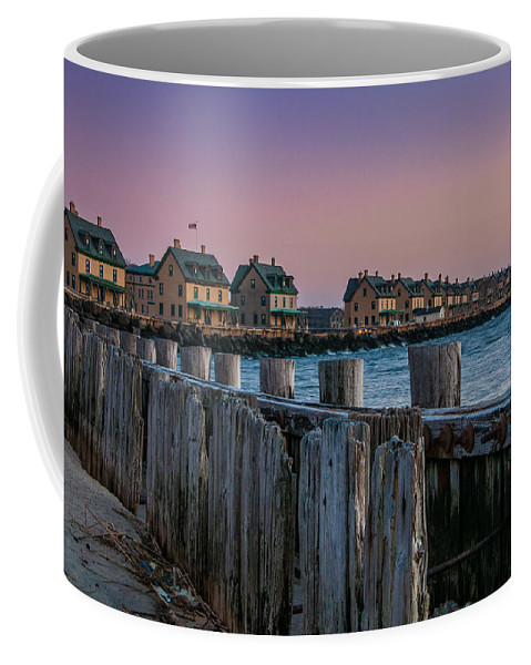 New Jersey Coffee Mug featuring the photograph Officers' Row by Kristopher Schoenleber