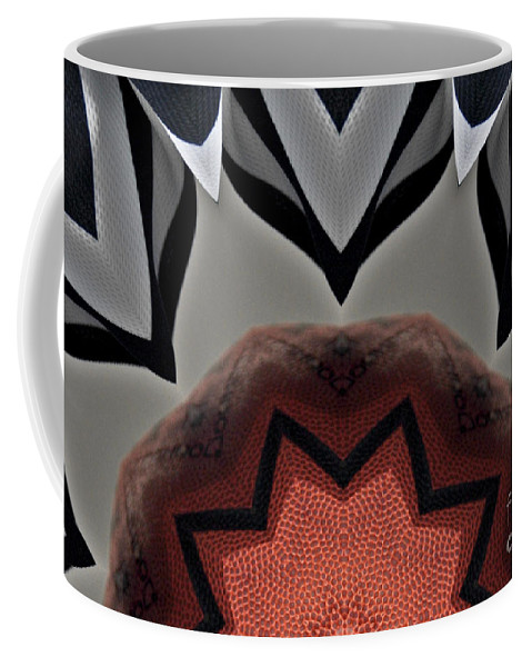 Basketball Coffee Mug featuring the photograph Officials Flower by Alan Look
