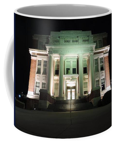 Oglebay Hall Coffee Mug featuring the photograph Oglebay Hall At Night by Cityscape Photography