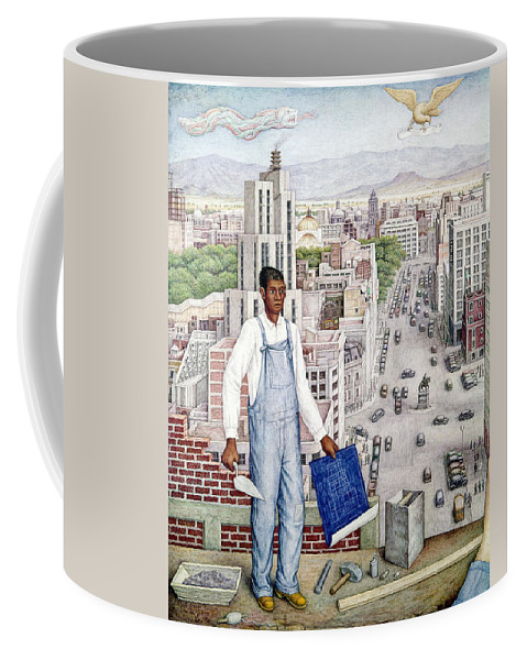 1949 Coffee Mug featuring the photograph Ogorman: City Of Mexico by Granger