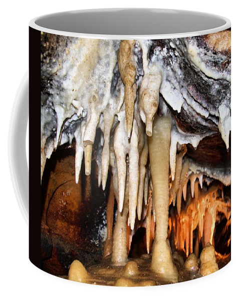 Caverns Coffee Mug featuring the photograph Ohio Caverns by Dan Sproul