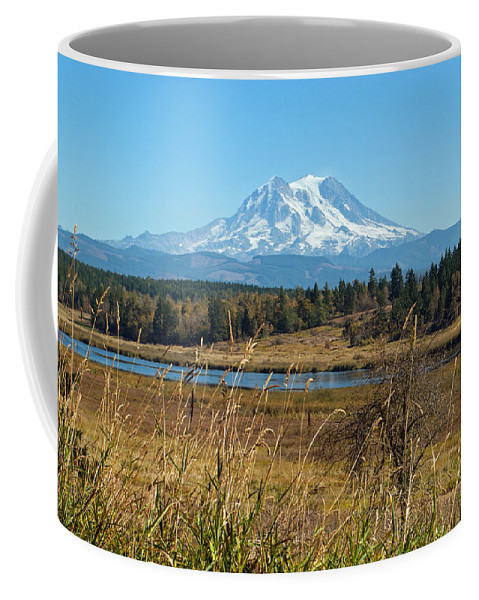 Landscape Coffee Mug featuring the photograph Ohop Valley Of Layers by Tikvah's Hope