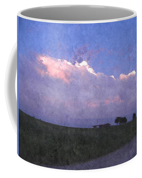 Storm Clouds Coffee Mug featuring the photograph Oklahoma Storm Clouds 1 by Annie Adkins