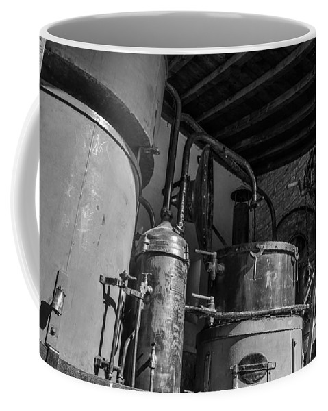 Alambic Coffee Mug featuring the photograph Old Alambic by Dany Lison
