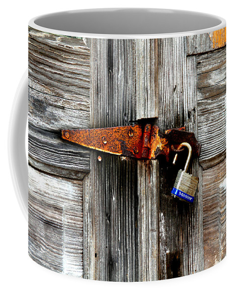 Barn Coffee Mug featuring the photograph Old And New By Diana Sainz by Diana Raquel Sainz