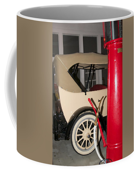 Old Automobile Coffee Mug featuring the photograph Old Automobile by Bob Pardue