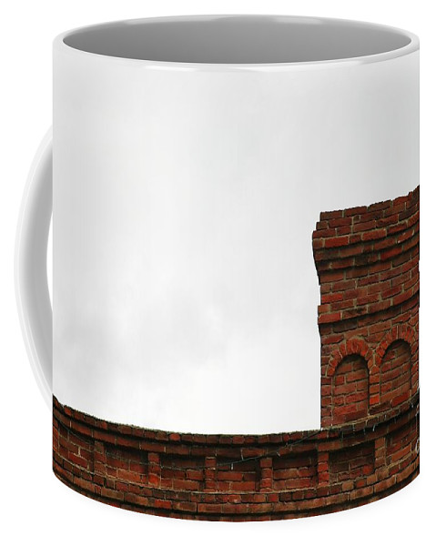 Old Coffee Mug featuring the photograph Old Chimney by Henrik Lehnerer