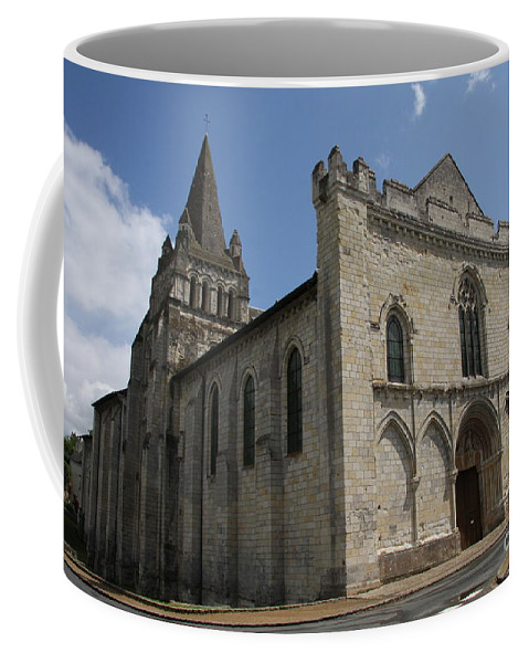 Church Coffee Mug featuring the photograph Old Church - Loire - France by Christiane Schulze Art And Photography