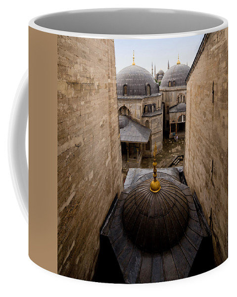 Hagia Coffee Mug featuring the photograph Old City Of Istanbul by Artur Bogacki