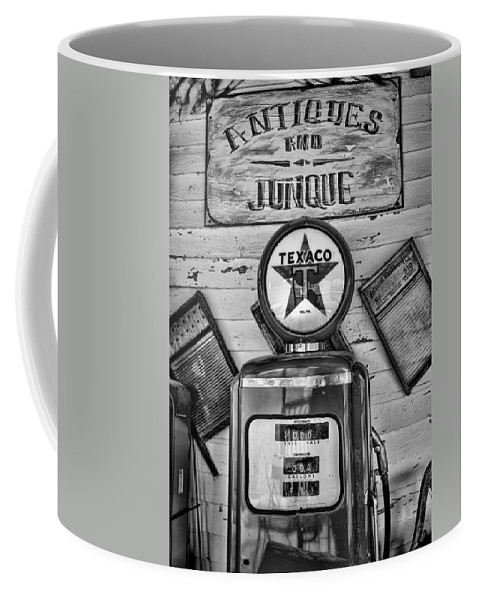 Gas Pump Coffee Mug featuring the photograph Old Fashioned by Heather Applegate