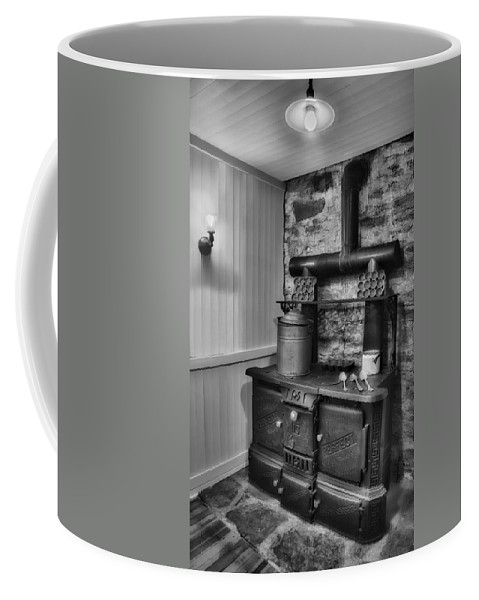 Cook Coffee Mug featuring the photograph Old Fashioned Richardson And Bounton Company Perfect Stove. by Susan Candelario