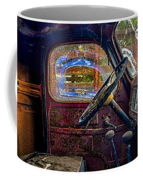 Ford Truck Coffee Mug featuring the photograph Old Ford by Stacy Abbott