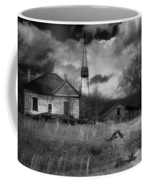 Farms Coffee Mug featuring the photograph Old Georgia Farm by Richard Rizzo