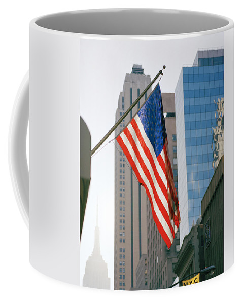 Inspiration Coffee Mug featuring the photograph Old Glory by Shaun Higson