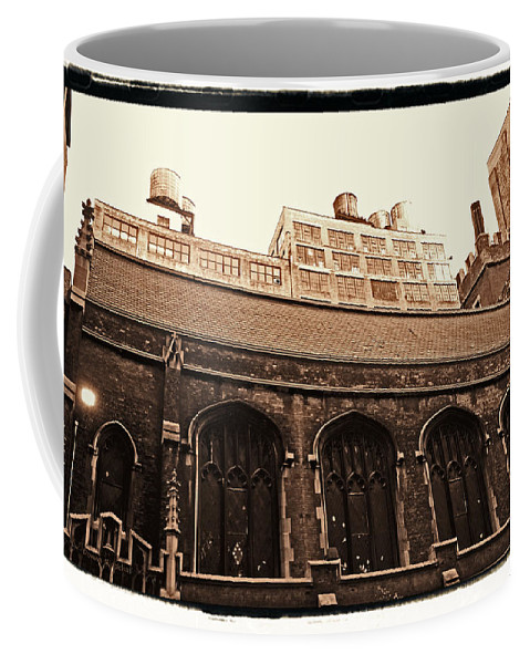 New York Coffee Mug featuring the photograph Old Industry by Donna Blackhall