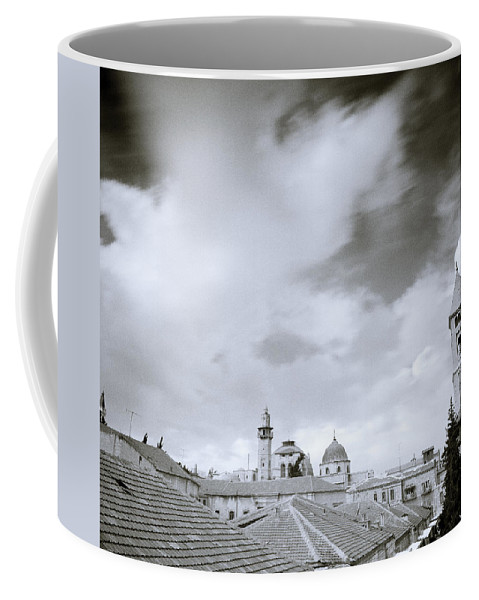 Sky Coffee Mug featuring the photograph Old Jerusalem by Shaun Higson