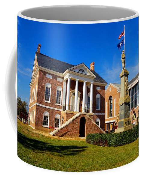 Lancaster Coffee Mug featuring the photograph Old Lancaster County Court House by Joseph C Hinson Photography