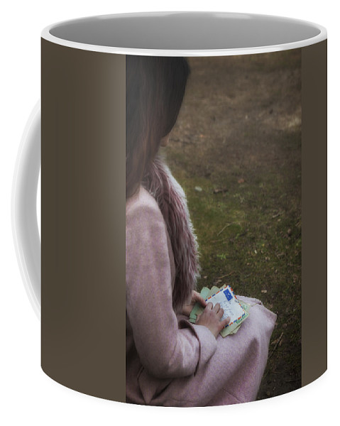 Girl Coffee Mug featuring the photograph Old Letters by Joana Kruse