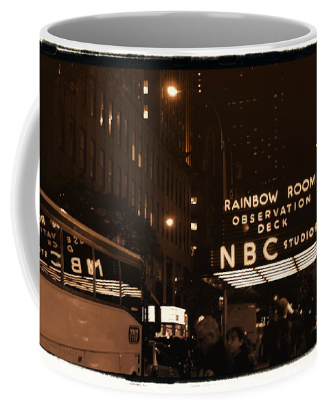 New York Coffee Mug featuring the photograph Old New York by Donna Blackhall