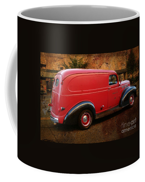 Chevrolet Coffee Mug featuring the photograph Old Red by Beverly Guilliams