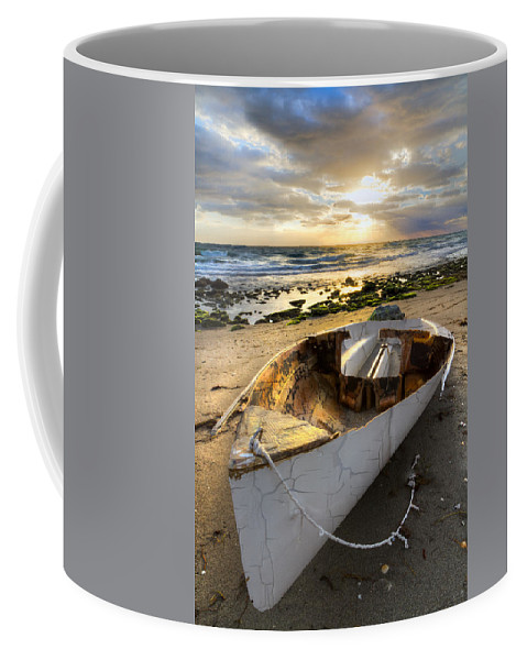 Blowing Coffee Mug featuring the photograph Old Salty by Debra and Dave Vanderlaan