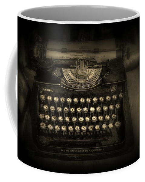 Vintage Coffee Mug featuring the photograph Old School by Jeff Watts
