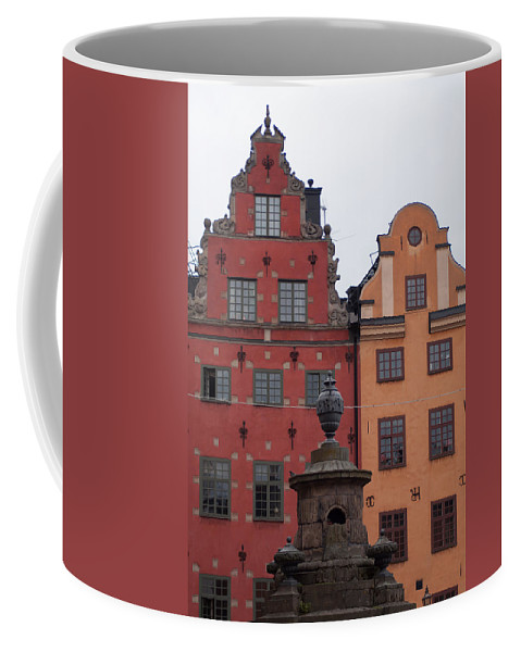 Architecture Coffee Mug featuring the photograph Old Town Architecture by Jill Mitchell