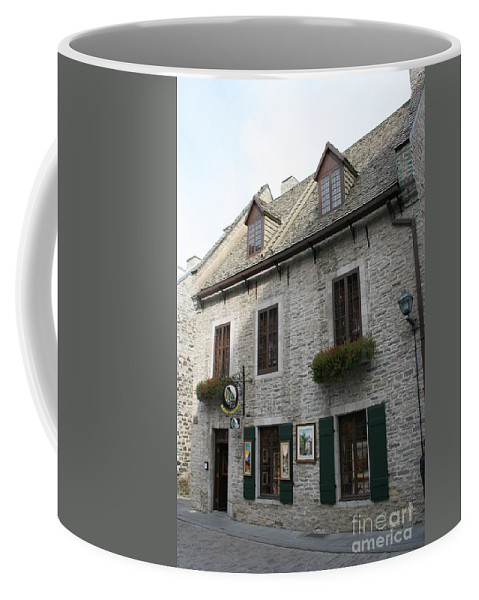 Old Town Coffee Mug featuring the photograph Old Town Quebec Canada by Christiane Schulze Art And Photography
