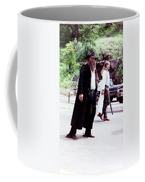 People Coffee Mug featuring the photograph Old West by Karl Rose